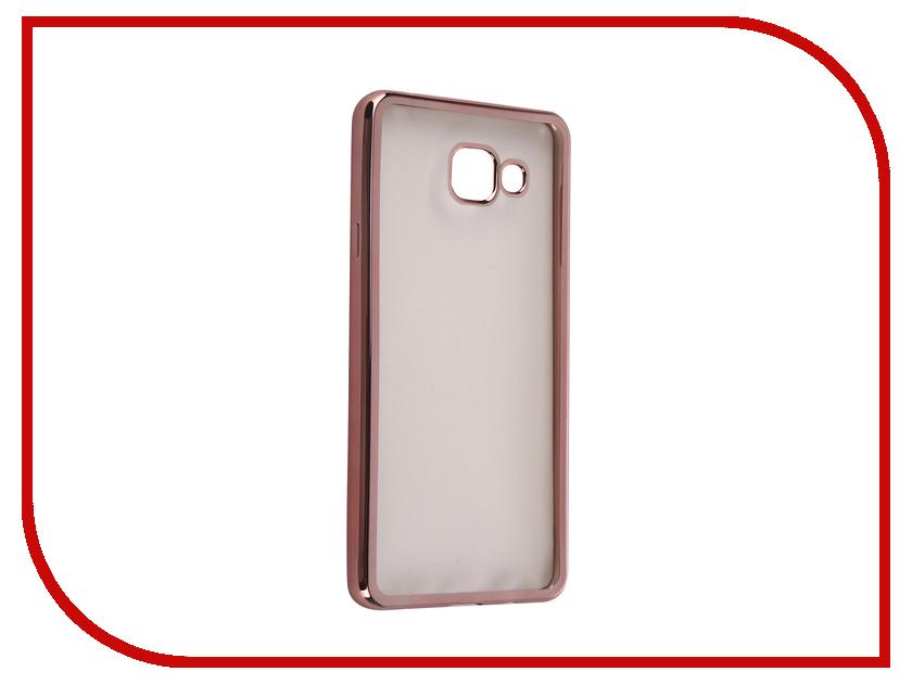 Аксессуар Чехол Samsung Galaxy A7 2016 DF sCase-24 Rose Gold<br>