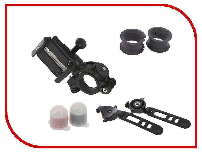 Держатель Joby GripTight Bike Mount Pro & Light Pack Black 83545 joby griptight gorillapod stand pro штатив держатель для планшетов до 10