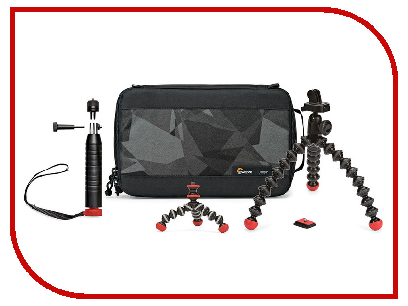 Аксессуар Набор Joby Action Base Kit Black-Red JB01396-0WW 5 x 20mm fuse base holder red black 10 pcs