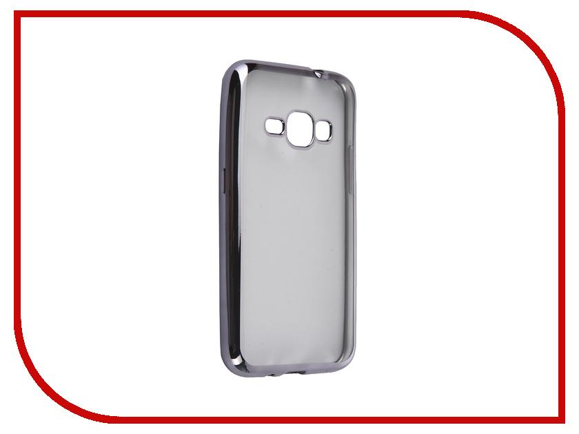 Аксессуар Чехол Samsung Galaxy J1 2016 DF sCase-27 Space Grey<br>