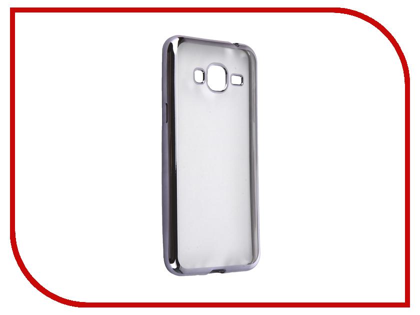 Аксессуар Чехол Samsung Galaxy J3 2016 DF sCase-28 Space Grey<br>