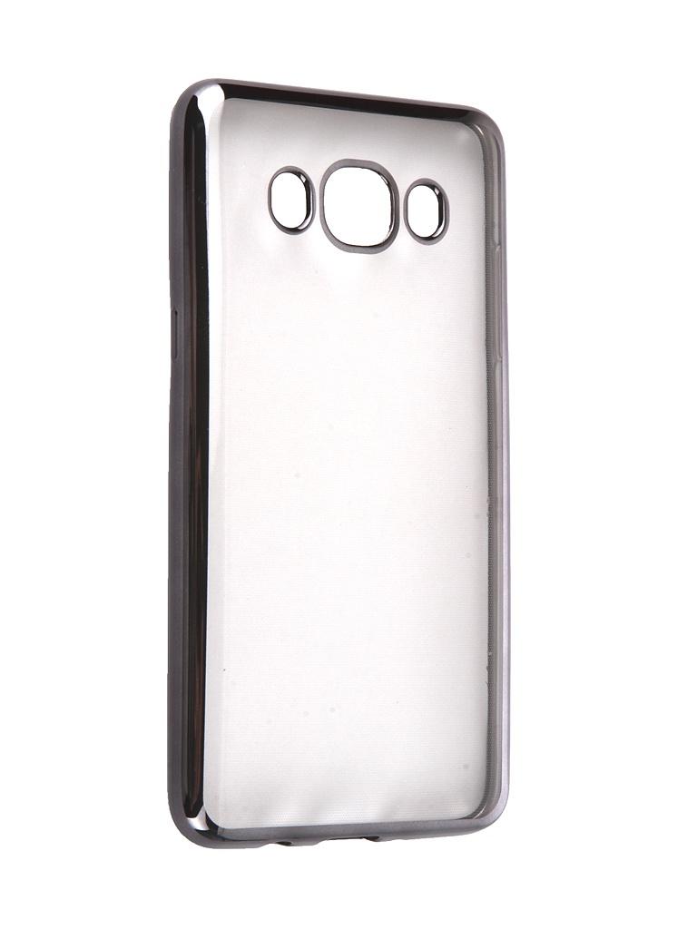 Аксессуар Чехол DF для Samsung Galaxy J5 2016 sCase-29 Black аксессуар чехол накладка samsung galaxy j3 2016 df scase 10