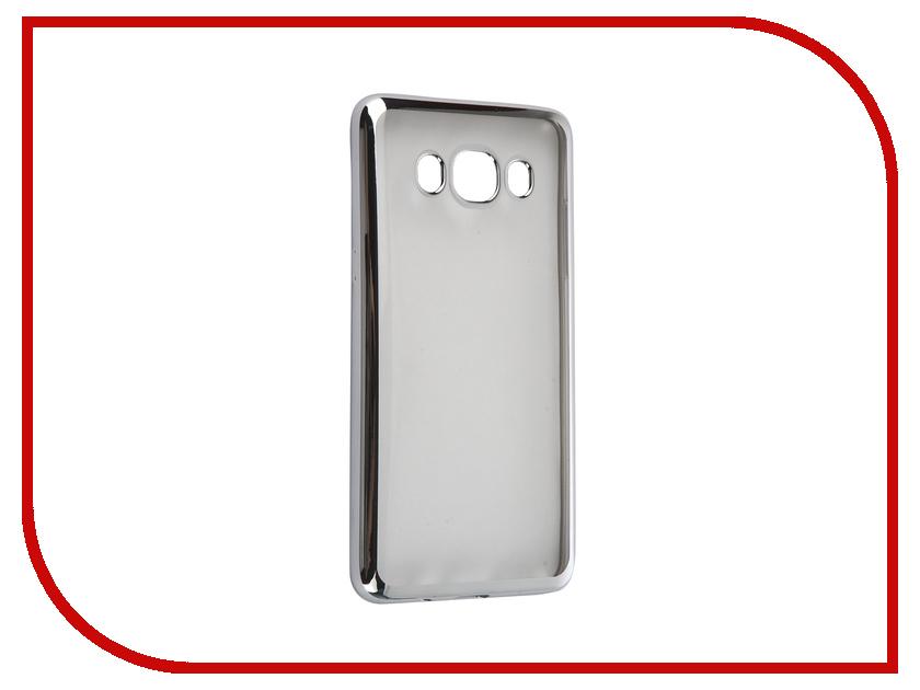 цена на Аксессуар Чехол Samsung Galaxy J5 2016 DF sCase-29 Silver
