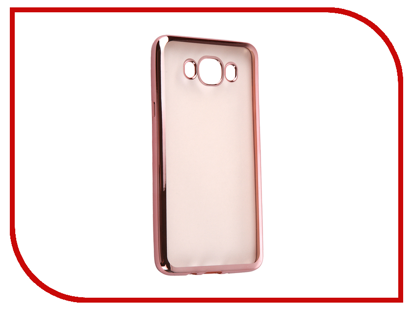 Аксессуар Чехол Samsung Galaxy J7 2016 DF sCase-30 Rose Gold аксессуар чехол samsung g925f galaxy s6 edge df scase 19 rose gold