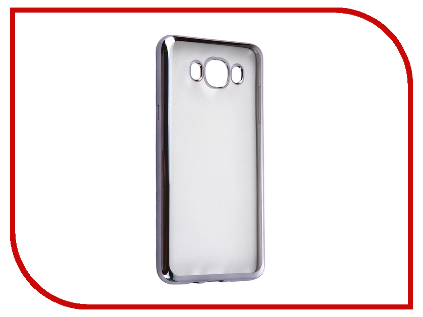 Аксессуар Чехол Samsung Galaxy J7 2016 DF sCase-30 Space Grey аксессуар чехол samsung galaxy a7 2016 df scase 24 rose gold