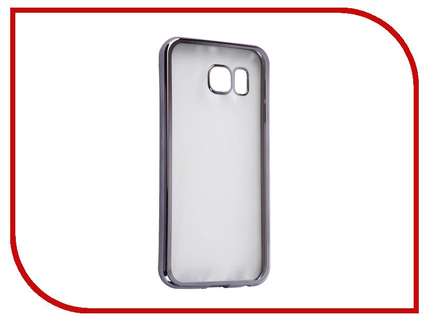 все цены на Аксессуар Чехол Samsung G920F Galaxy S6 DF sCase-31 Space Grey онлайн
