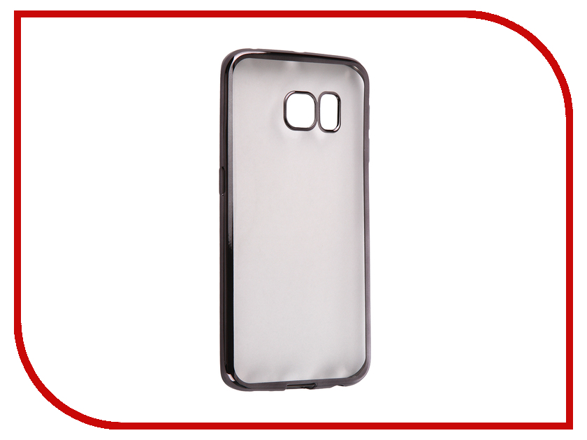 Аксессуар Чехол Samsung G925F Galaxy S6 Edge DF sCase-19 Black<br>