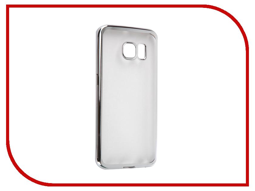 все цены на  Аксессуар Чехол Samsung G925F Galaxy S6 Edge DF sCase-19 Silver  онлайн