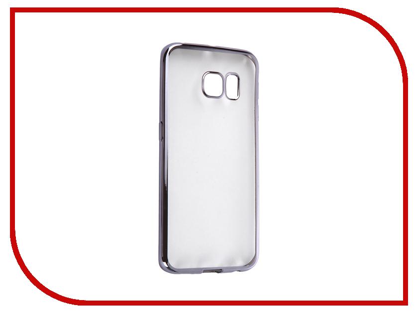 Аксессуар Чехол Samsung G925F Galaxy S6 Edge DF sCase-19 Space Grey<br>