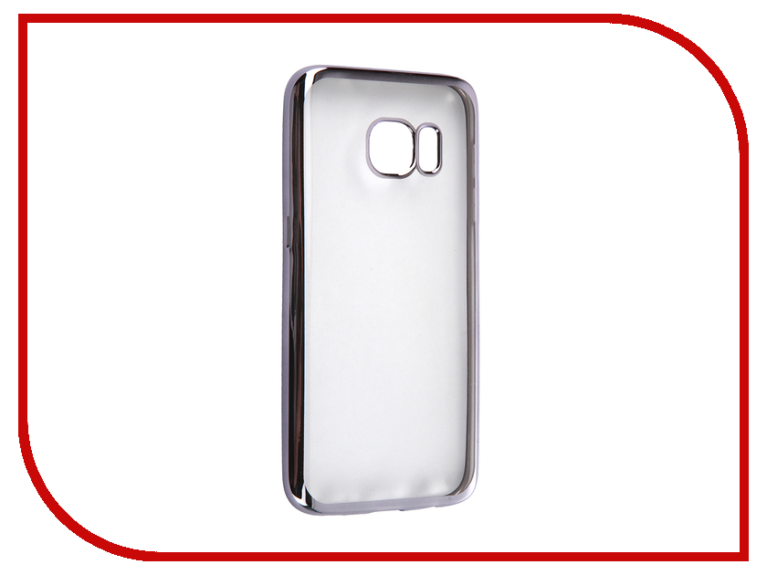 Аксессуар Чехол Samsung Galaxy S7 DF sCase-32 Space Grey<br>