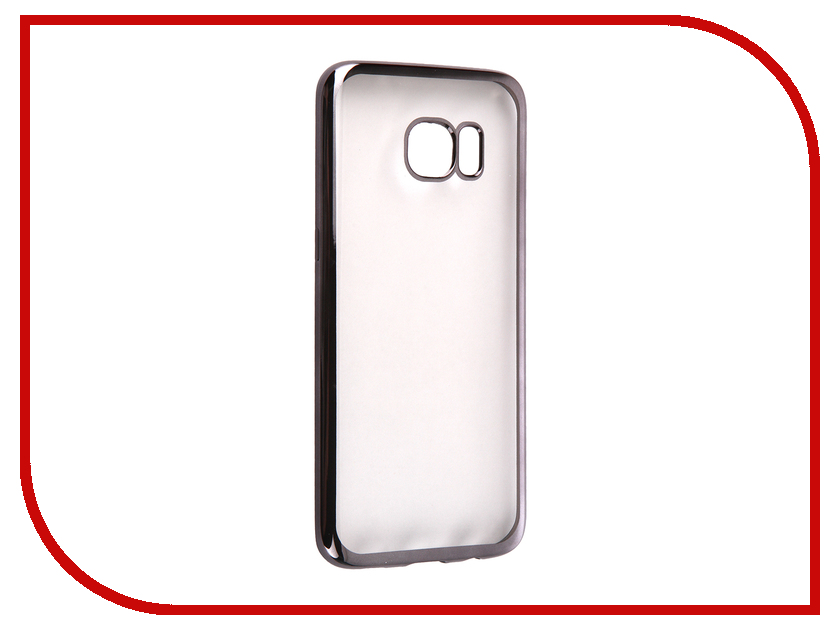 Аксессуар Чехол Samsung Galaxy S7 Edge DF sCase-33 Black<br>