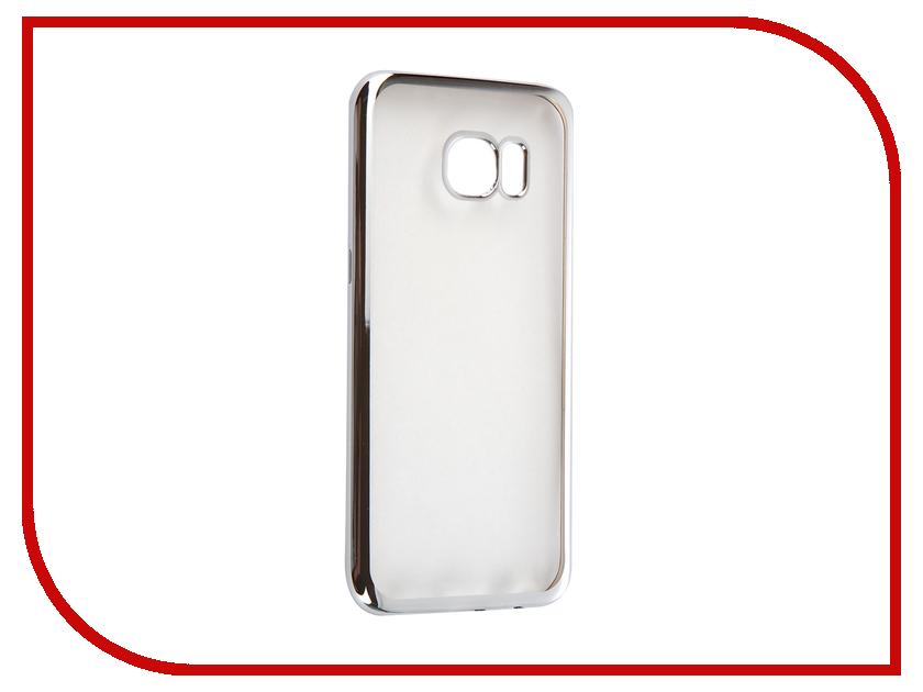 цена на Аксессуар Чехол Samsung Galaxy S7 Edge DF sCase-33 Silver