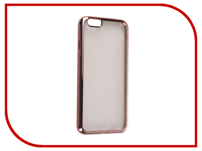 Аксессуар Чехол DF iCase-02 для iPhone 6 / 6S Rose Gold<br>