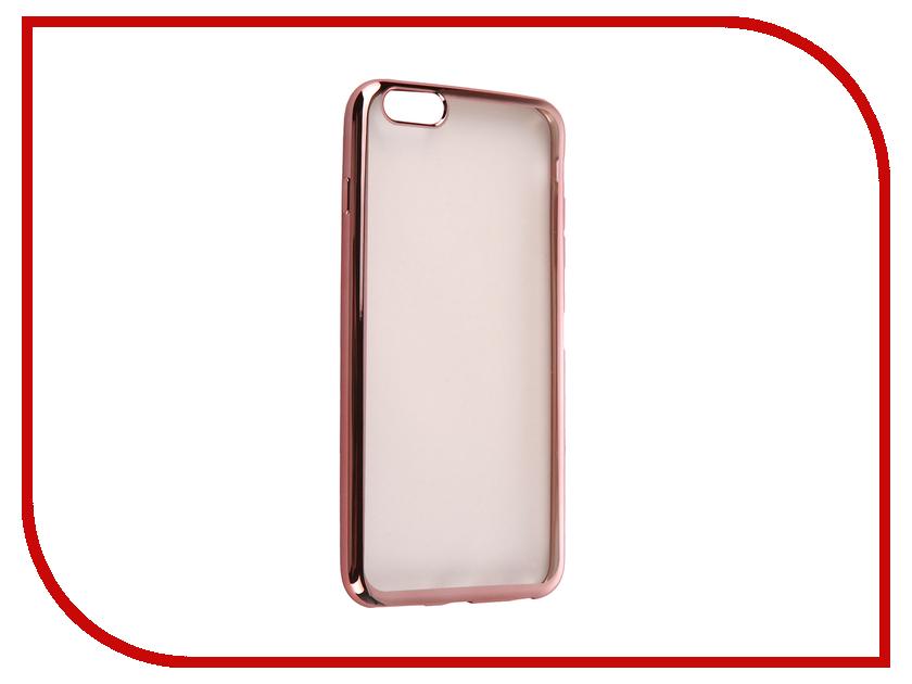 Аксессуар Чехол DF iCase-03 для iPhone 6 Plus / 6S Plus Rose Gold<br>