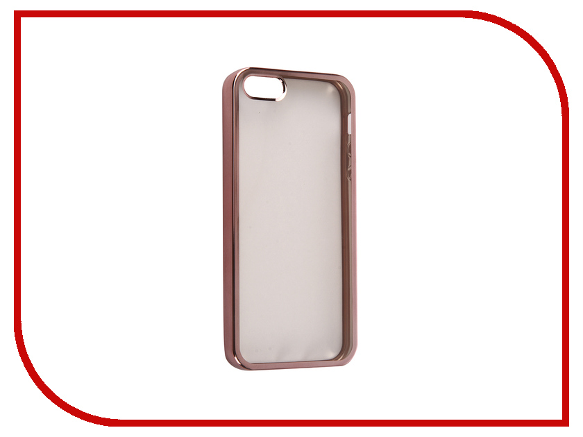 Аксессуар Чехол DF iCase-01 для iPhone 5 / 5S / SE Rose Gold<br>