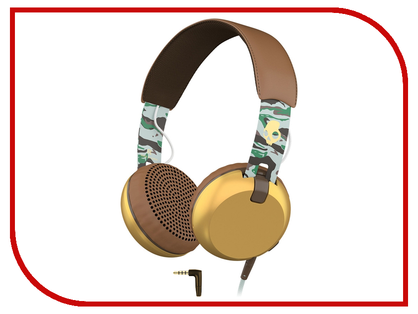 Гарнитура Skullcandy Grind Scout Camo Brown<br>