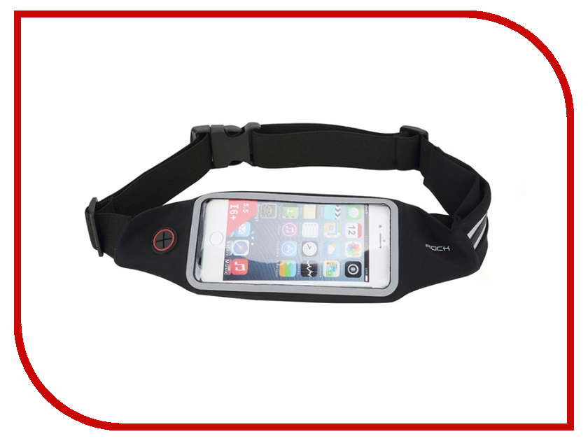 Аксессуар ROCK Universal Running Belt Black<br>