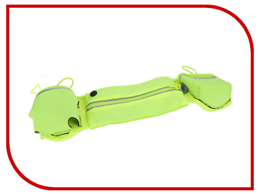 Аксессуар Сумка ROCK Multifunctional Running Belt поясная, универсальная Green<br>