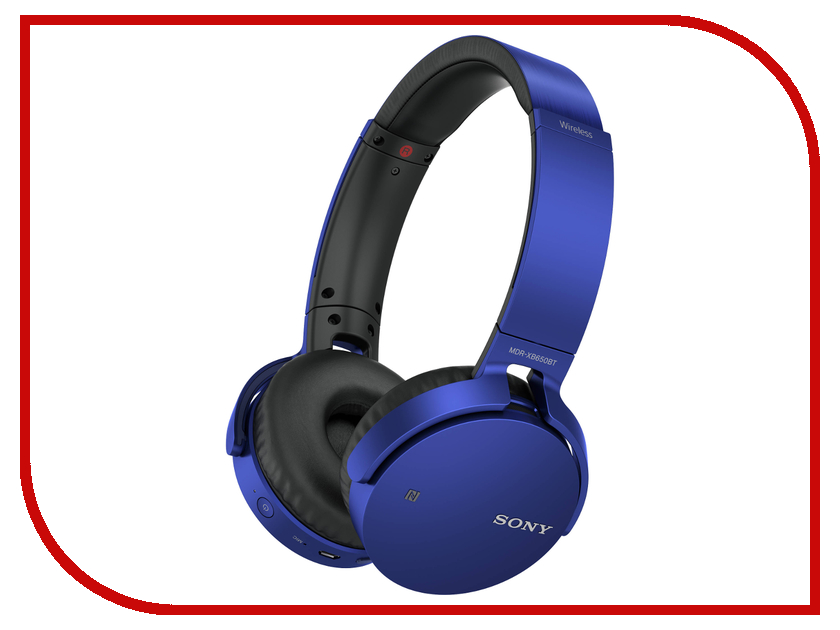Sony MDR-XB650BT Blue sony sony mdr e9a