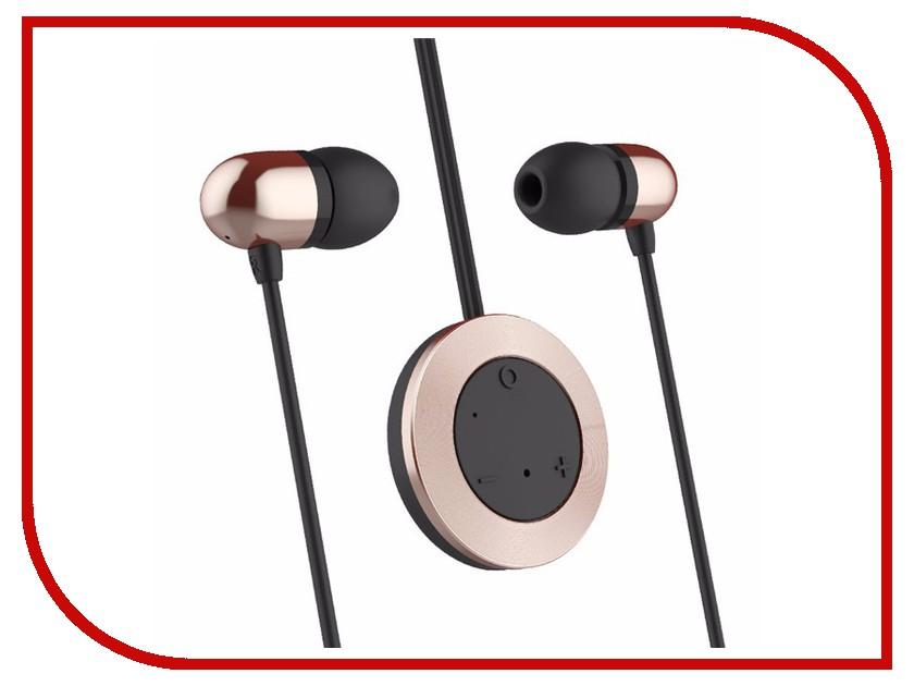 Наушники ROCK Muo Bluetooth Earphone RAU0518 Rose Gold