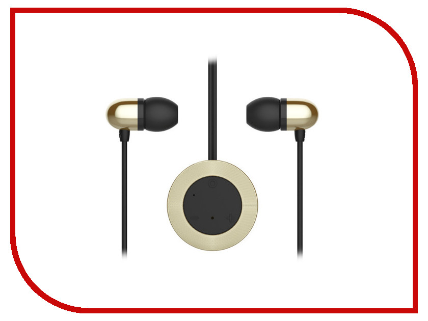 �������� ROCK Muo Bluetooth Earphone RAU0518 Gold