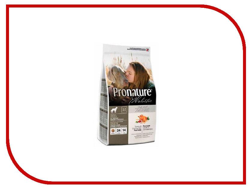 Корм Pronature Holistic Индейка с клюквой 2.72kg для собак 102.2004 сухой корм pronature holistic adult cat skin