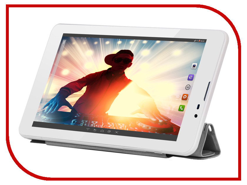Планшет BQ 7063G Disco White Spreadtrum SC7731 1.3 GHz/1024Mb/8Gb/Wi-Fi/3G/Bluetooth/GPS/Cam/7.0/1024x600/Android