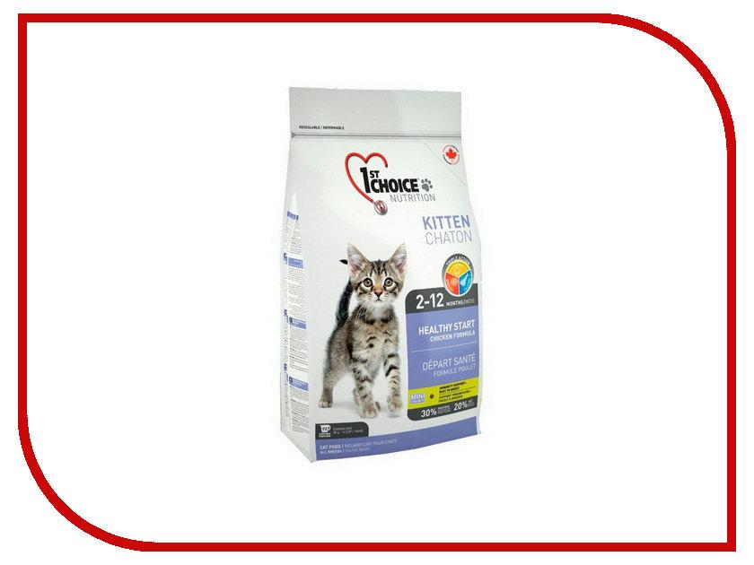 Корм 1st CHOICE Цыпленок 5.44kg для котят 102.1.203<br>