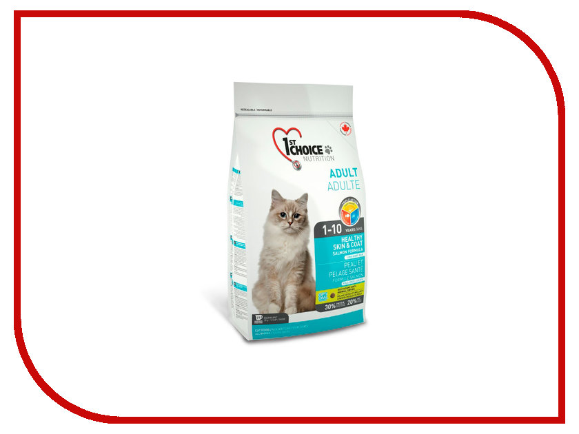 Корм 1st CHOICE Лосось 907g для кошек 102.1.221<br>