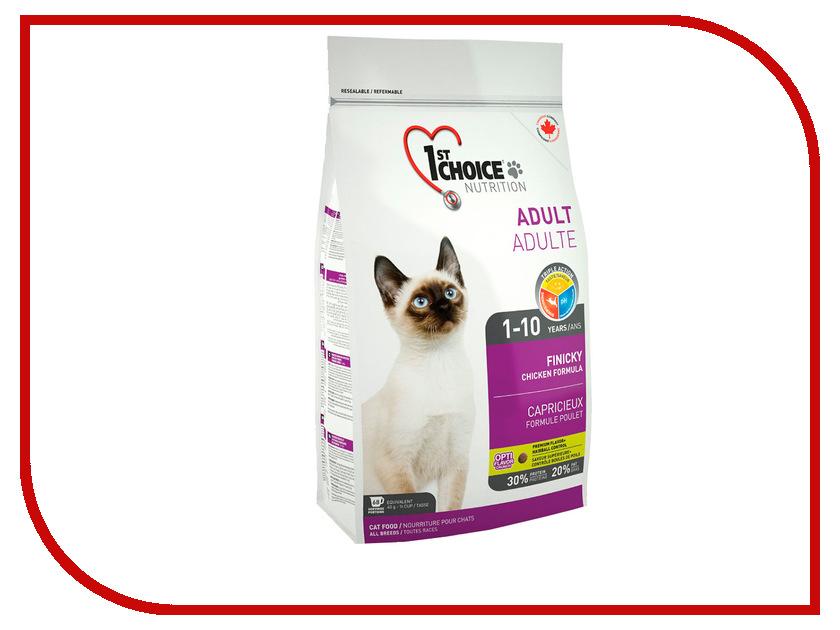 Корм 1st CHOICE Finicky Цыпленок 2.72kg для кошек 102.1.231<br>
