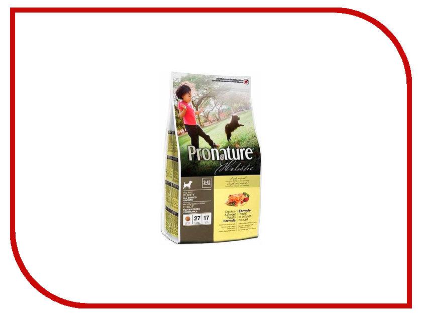 Корм Pronature Holistic Курица со сладким картофелем 340g для собак 102.2010<br>