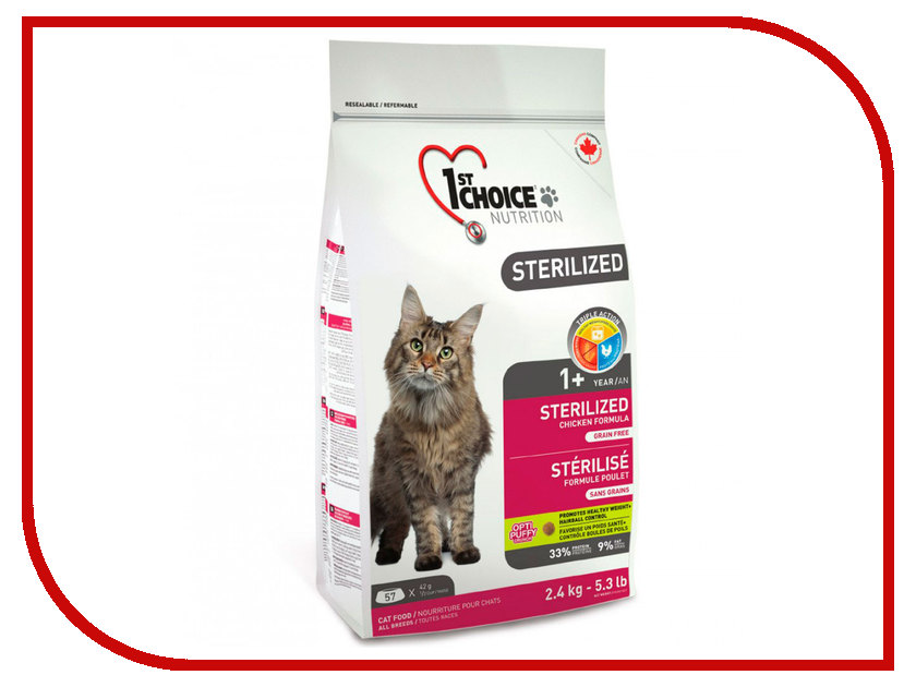 ���� 1st CHOICE Sterilized ������ � ������� 5kg 102.1.282 ��� �����