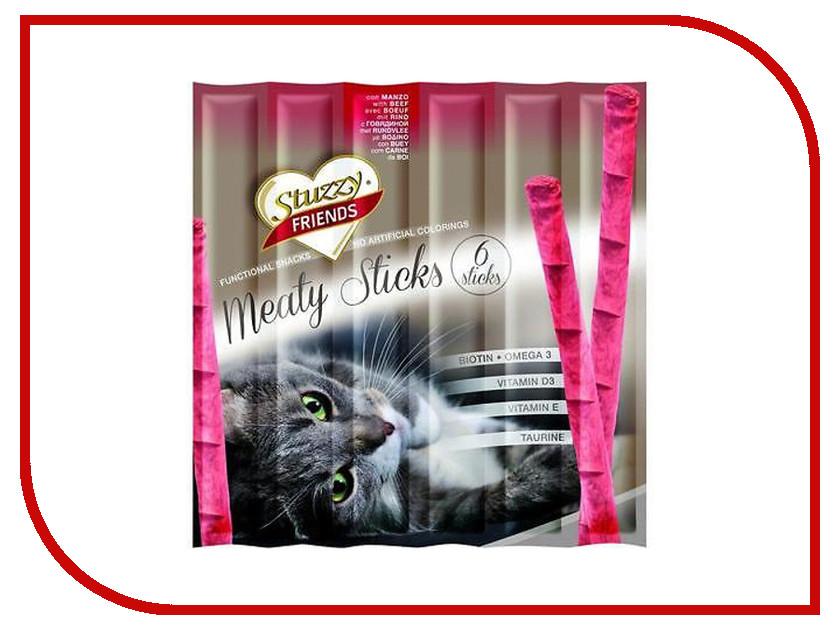 Корм Stuzzy Friends Говядина 6x5g палочки для кошек 132.C3600<br>