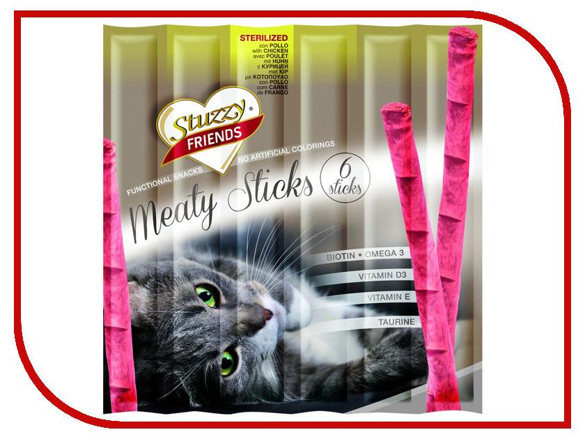 Корм Stuzzy Friends Курица 6x5g палочки для кошек 132.C3602<br>