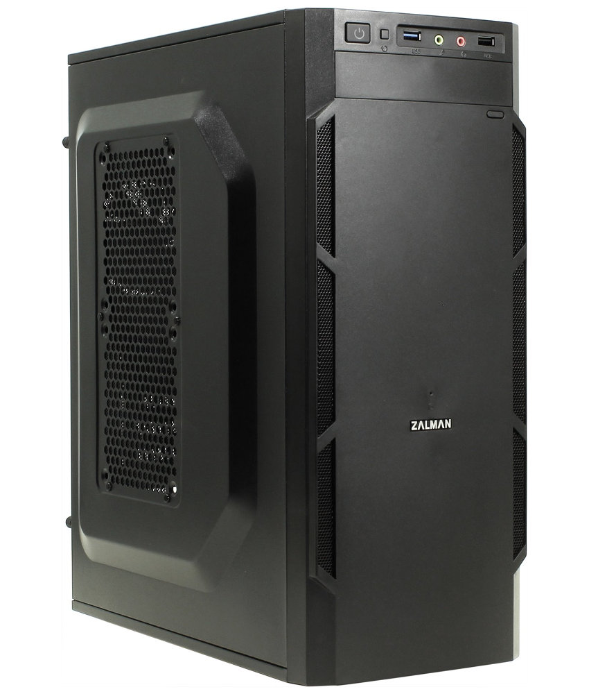 Корпус Zalman ZM-T1 Plus Mini Tower Black