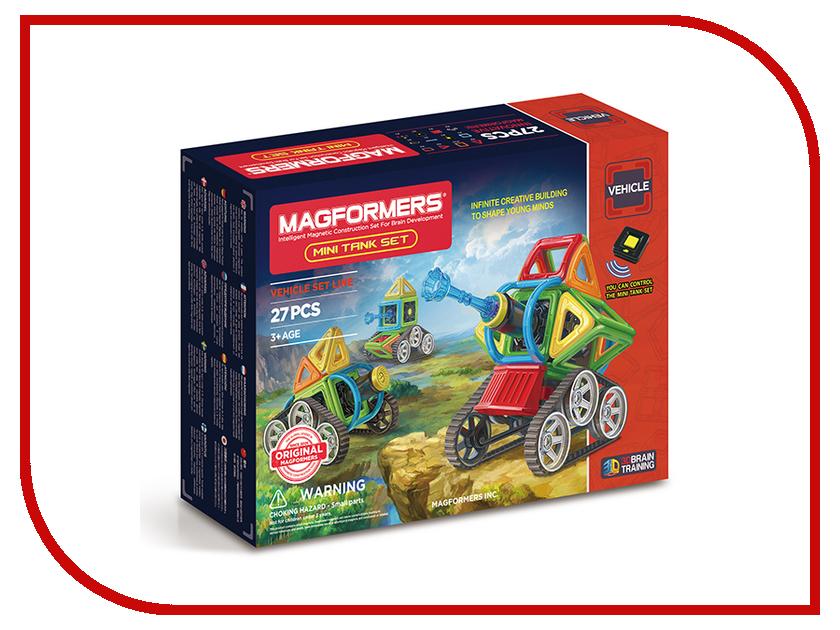 Игрушка Конструктор Magformers Mini Tank 707010<br>
