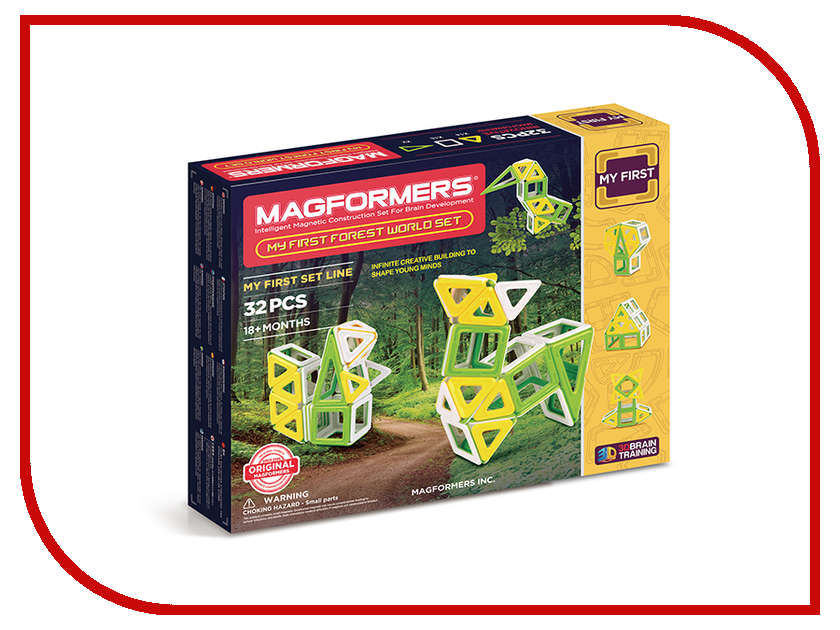 Игрушка Конструктор Magformers My First Forest World 702009<br>