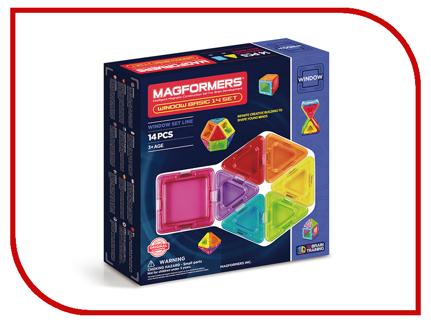 Игрушка Magformers Window Basic 14 714001<br>
