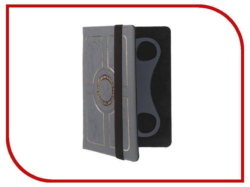 Аксессуар Чехол 6.0-inch Vivacase Book Grey VUC-CBK03-gr<br>