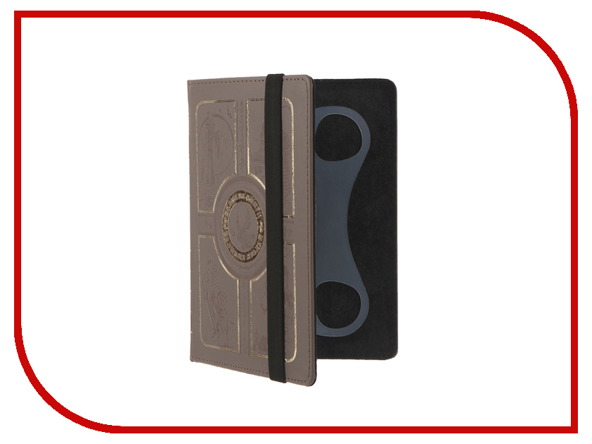 Аксессуар Чехол 6.0-inch Vivacase Book Brown VUC-CBK06-br