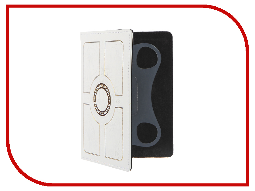Аксессуар Чехол 6.0-inch Vivacase Book White VUC-CBK02-w<br>