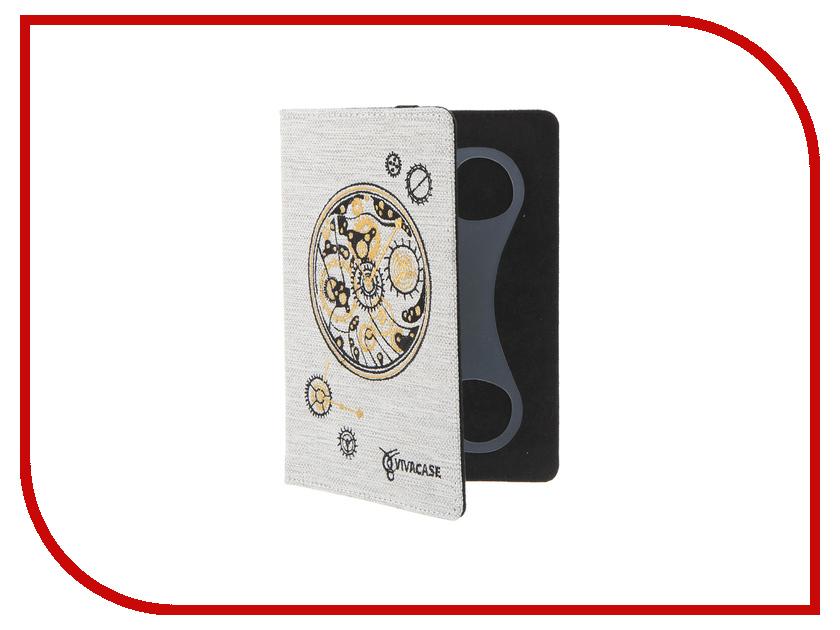 Аксессуар Чехол 6.0-inch Vivacase Clockwork универсальный White VUC-CCW06-w<br>