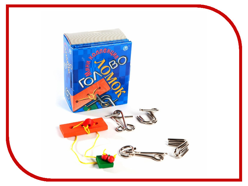 Игрушка Фан Китс Мини коллекция головоломок 4620757020562<br>