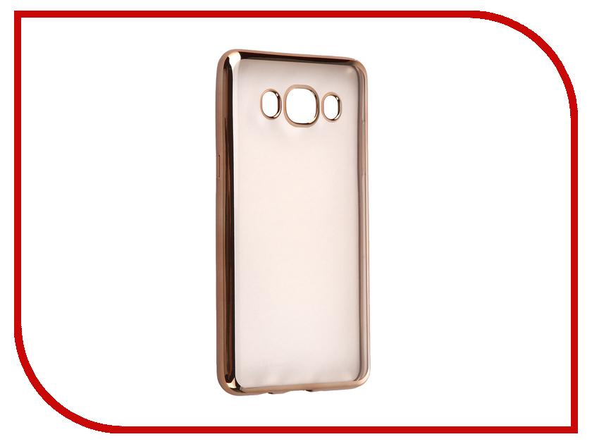 Аксессуар Чехол Samsung Galaxy J5 2016 DF sCase-29 Gold<br>