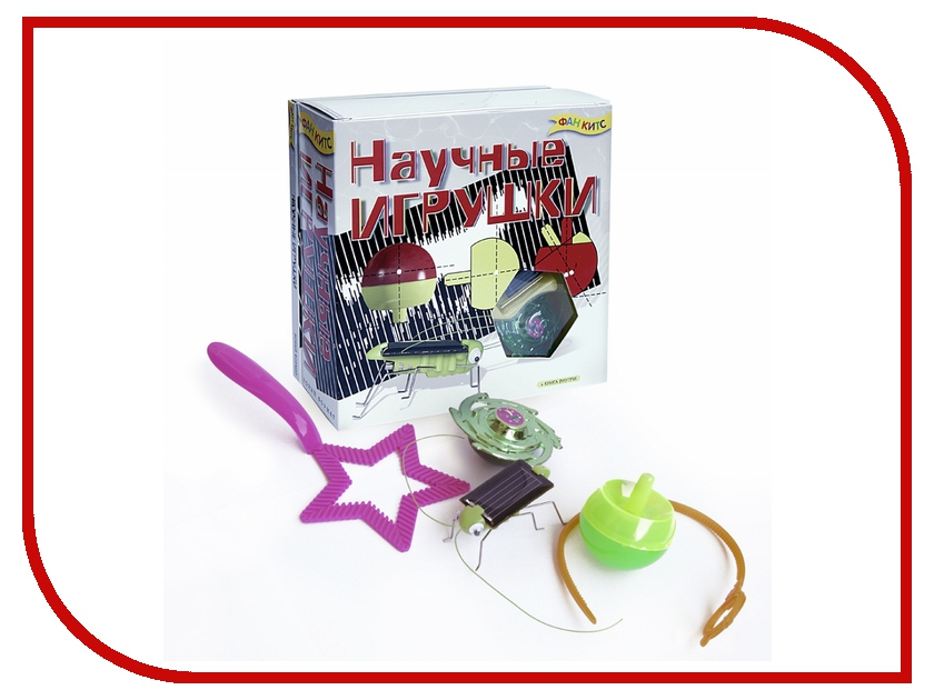 Набор для экспериментов Фан Китс Научные игрушки