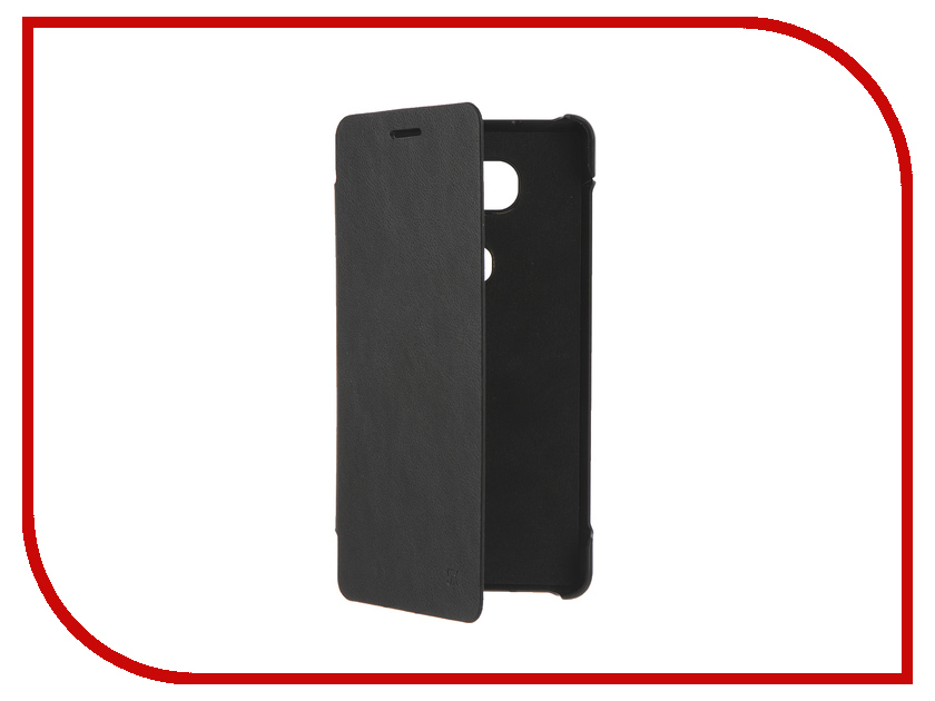 Аксессуар Чехол Huawei Honor 5x Apres Flip PU Leather Case Cover Black<br>