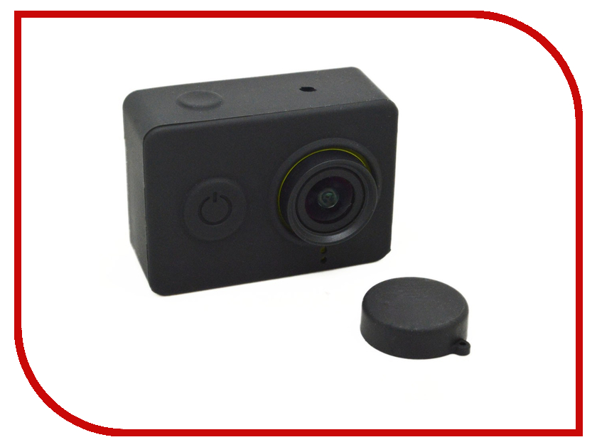 Аксессуар Apres Silicone Case for Xiaomi Yi Camera Black