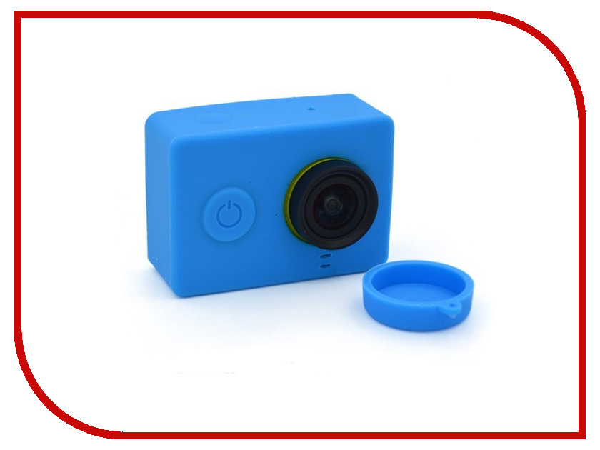 Аксессуар Apres Silicone Case for Xiaomi Yi Camera Blue<br>