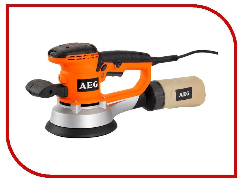 Шлифовальная машина AEG EX 150 ES 443290 штроборез aeg mfe 1500