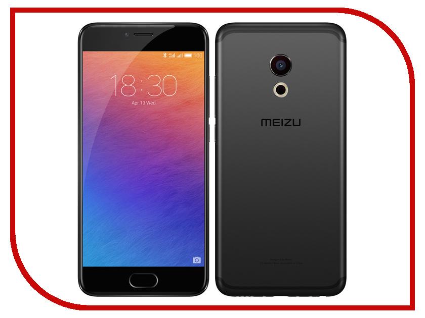 Сотовый телефон Meizu Pro 6 64Gb Grey-Black сотовый телефон huawei honor 8 pro black